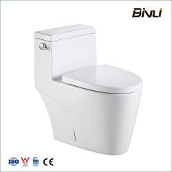 Badezimmer WC Keramik Sanitärkeramik Tornado S Trap 300mm One Stück längliche Toilette mit UF-Sitz