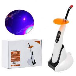 Inalámbricos inalámbricos portátiles recargables LED de luz de curado Dental de plástico