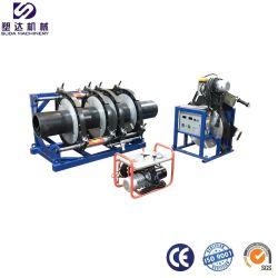 ماكينة اللحام ملتحفة بأنبوب بلاستيكي HDPE مقاس 12 بوصة-14 بوصة المعدات/لحام البطلة/تركيب الأنابيب IPS HDPE ماكينة لحام البطلة/الانصهار بالقنطة الهيدروليكية الماكينة