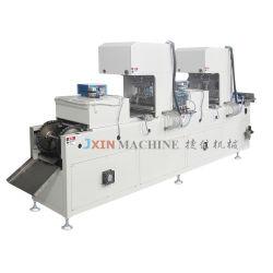 Multicolor automático máquina de tampografía impresora Pad para de madera y acero inoxidable de doble cara de la regla Tampo Imprimir
