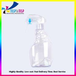 De douane In het groot Goedkope 500ml ontruimt de Plastic Fles van de Nevel van de Trekker van het Huisdier Vloeibare Detergent