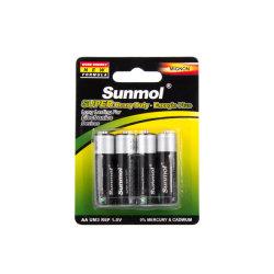 Carbone-zinc Batterie AA Batterie sèche Um3 1,5 V R6