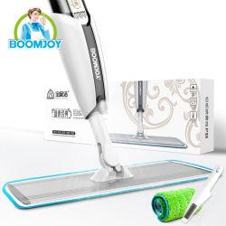 Plaque en aluminium Boomjoy MOP et le racleur de nettoyage en microfibre et de l'énergie durable de l'enregistrement Mop de pulvérisation
