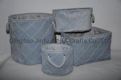 2021pai de moda de armazenamento de veludo macio da cesta a grande capacidade de diversos Caixa Dobrado Water-Washing Compartimento de Armazenamento