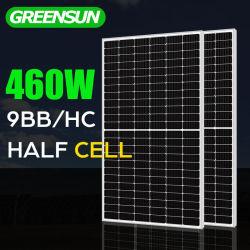 preço de fábrica 440W 450W 460W Módulos Mono a energia solar de instrumentos
