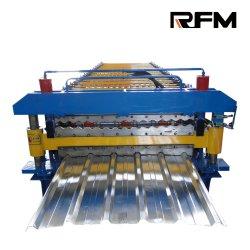 屋根材シート用二層成形機、中国成形機工場