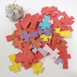 Croix Eco Friendly Plantable recyclé Confettis de semences