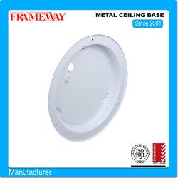 La fabricación de OEM/ODM de componentes de iluminación de techo de metal pintado de blanco de la base de la hoja de acero conformado de metales, revestimiento de polvo. 2