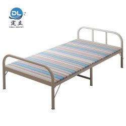 Classic do tubo metálico de Tratamento Médico Dobra Única cama de ferro