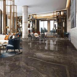 Pulido de color marrón café de madera mármol Eramosa de Obama para el piso interior azulejos de la pared de granito