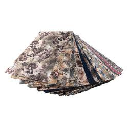 100% Poli 88g Taffeta tecido impresso para vestuário de malha de guarnição