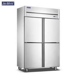 Küche-Geräten-kommerzielle viertürige 24 Tellersegment-Böe-Gefriermaschine