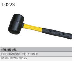 Резиновый молоток с ручкой из стекловолокна L0223