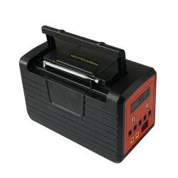 Teléfono de la estación de carga solar recargable con radio FM para ejecutar TV y ventilador