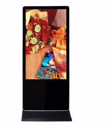 43дюйма напольная подставка рекламы плеер тонкий ЖК-Тотем Digital Signage 1080p HD мультимедийной рекламы
