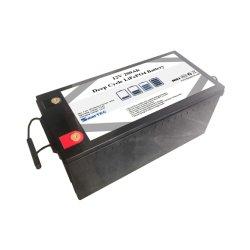 Непосредственно на заводе литиевый аккумулятор питания 12V 200Ah глубокую цикла LiFePO4 аккумулятор для солнечной энергии с UL/FCC/RoHS/CE