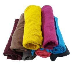T shirt en coton Couleur mixte essuyage Hosiery Shop chiffons de nettoyage