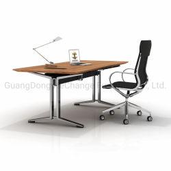 현대 멜라민 MDF 최고 사무실 행정상 서 있는 컴퓨터 책상 (HC 강철)