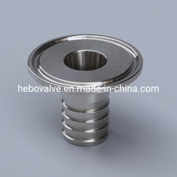 3 A raccordo per tubo adattatore a morsetto in acciaio inox per sanitari da 14 mphr