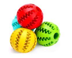 Haustier-Spielzeug-Kugel-zahnmedizinisches Hundekauen-haltbares Hundebehandlung-Rugby