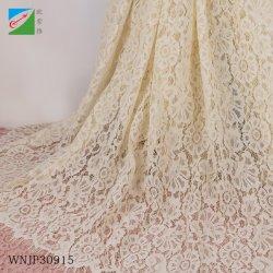 Tissu Textile nuptiale dentelle de coton pour les textiles vêtement Robe de mariée de dentelle accessoires de vêtements en tissu