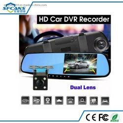 4.3 Polegada Espelho Retrovisor Gravador de vídeo digital DVR Automóvel