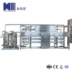 Zhangjiagang 자동적인 산업 마시는 순수한 광수 RO 역삼투 급수 여과기 물 처리 Purifucation 시스템 순화 플랜트