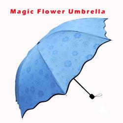 ماء سحريّة ينشّط لون يغيّر مظلة مطر قطرة أسلوب, [بورتبل] منافس من الوزن الخفيف مظلة [فولدبل] صامد للريح [أنتي-وف] لأنّ شاطئ يخيّم سفر ([يز-20-10])
