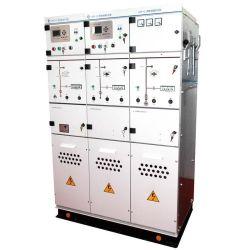 金属の閉鎖固体絶縁された電気開閉装置のパネル12kv 400A