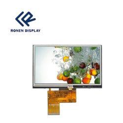 40pin 5inch TFT LCD het Scherm van de Aanraking van de Vertoning 800*480