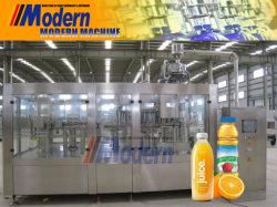 عصير فاكهة بتقنية NFC تلقائي طاقة مشروبات ذات نكهة مائية غير كربونية شرب الماء الزجاج الحيوانات الأليفة زجاجة تعبئة التعبئة الساخنة عملية التعبئة خط الإنتاج