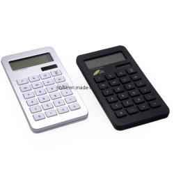 Красочные портативное устройство 10 цифры на дисплее горячая продажа Ультра тонкий портативный калькулятор для учащихся средних школ
