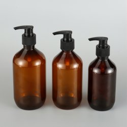 Liquit Soap Antispetic Solution Cleaning Water Toner를 위한 500ml400ml300ml Plastic Pet Bottle