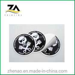 스티커를 인쇄하는 방수 투명한 플라스틱 서류상 에폭시 자동 접착 레이블