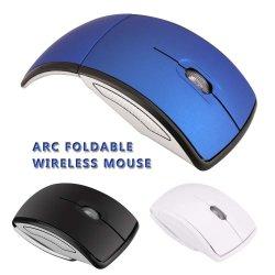 Mini ABS 소재 OEM Optical 2.4GHz의 독특한 Arc Folding Wireless 마우스
