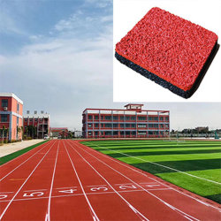 IAAF gerecycled All-Weather Full Pour System Rubber Tartan hardloopbaan