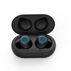 أحدث سماعة أذن للهاتف المحمول في الأذن T100 Bluetooth 5.0 TWS اللاسلكية مع حافظة الشحن لنظام Android أو iPhone