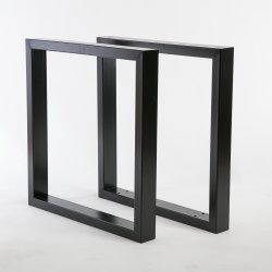 مربّع صناعيّة يشكّل مكتب طاولة ساق [دين تبل] معدن ساق