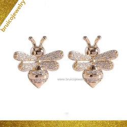 Dernière conception de bijoux avec Diamond Stone Bee boucles pour les femmes