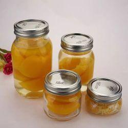 150ml-750ml en verre clair Verre de gros de joint de qualité alimentaire Mason Jam Jar de miel