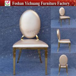 Mariage de gros de haute classe Royal chaise en cuir en acier inoxydable (YC-ZS25)
