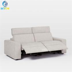 Гостиную мебелью, теплый белый дизайн мебели с откидной спинкой кожаный диван