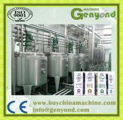 Pakket van het Karton van de Machines van de Lijn van de Verwerking van de gepasteuriseerd melk het Automatische Hoogste