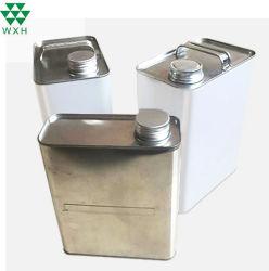 [3ل] يفرّغ معدن قصدير علبة لأنّ [إنجن ويل] مع طلية داخليّة