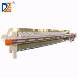 Klimageräten-Behandlung-flüssige feste trennende Filterpresse-Maschine