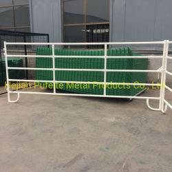 Commerce de gros USA 12FT enduit de poudre de panneaux de bovins / panneaux de Corral / panneaux de Corral de cheval
