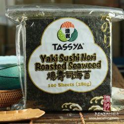 Het Geroosterde Zeewier van de Sushi van Yaki van Tassya Nori