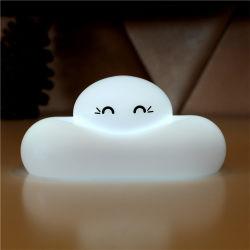 Économie d'énergie capteur tactile de la forme de cloud computing Night Light lampe de bureau rechargeables USB