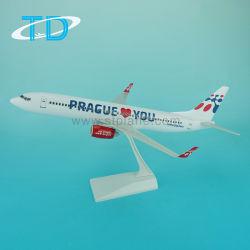 39.5cmプラスチック1/100のB737-800プラハの航空機モデルキット