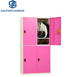 Мебель из стали 4 двери шкаф для одежды корзины шкафа электроавтоматики